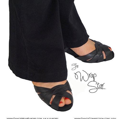 Wrap Star Black Leather