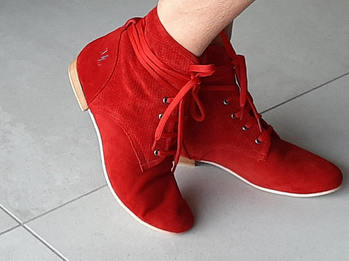Ella Bootie Red