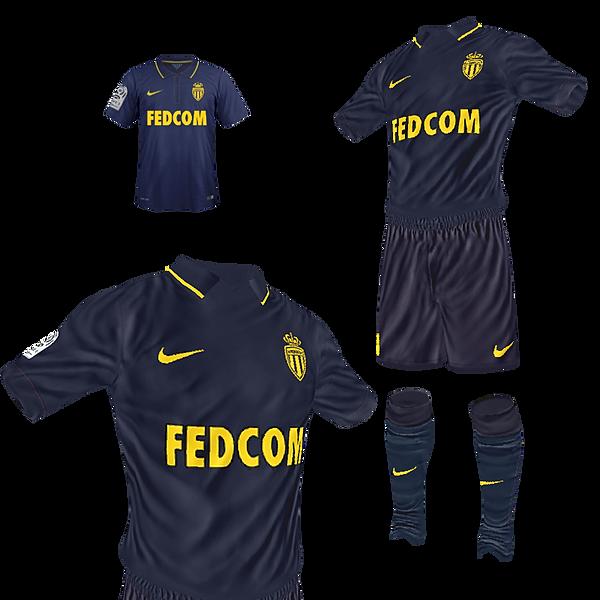 362811896 AS Monaco AWAY by Kisake (Ligue 1 + LDC