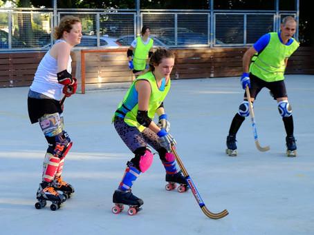 Het kan weer, trim-rolhockey voor volwassenen