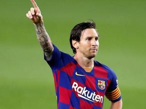 Messi quiere pactar salida