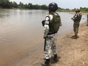 Migrantes arriban a puntos fronterizos de Tabasco y Chiapas