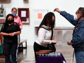 México vive un Miércoles de Ceniza adaptado a los tiempos de la covid-19