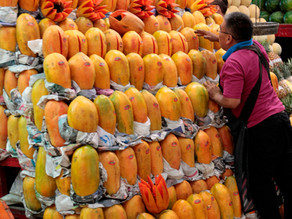 El superávit agroalimentario de México crece un 38,4 % anual hasta septiembre