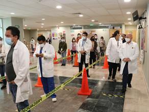 Inicia esquema de vacunación contra el COVID-19 en Chiapas