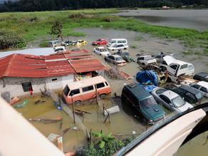 La Cruz Roja sigue en etapa de rescate en Guatemala ante la inundación de poblados