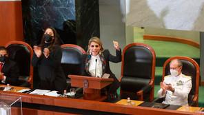 Evelyn Salgado asume como gobernadora de Guerrero