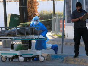 México añade más de 12.000 casos de covid hasta 1.090.675 y 104.873 muertes