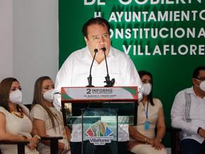 Gracias al gobernador Rutilio Escandón Cadenas Villaflores es vanguardista y modelo a seguir: Marian