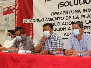 Sin éxito, CNTE ante gobierno federal