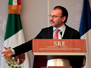 Videgaray  rechaza acusaciones de complicidad de Rosario Robles