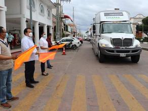 """Llegan unidades móviles """"Juntos por la Salud"""" a Villaflores"""