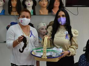 Continúa Voluntariado del PJ acciones en beneficio de la lucha contra el cáncer