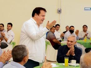 Empresarios de Villaflores respaldan el proyecto de Mariano Rosales Zuarth