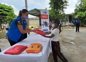 Destinan más de 75 mil paquetes escolaresa familias de 3 municipios de Chiapas