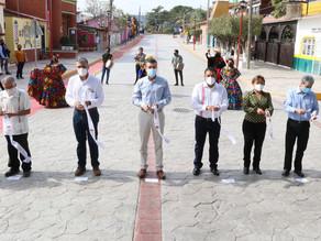 Inauguran rehabilitación de principal vía de acceso a Chiapa de Corzo