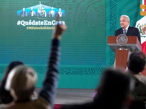 López Obrador rompe veda para denunciar compra de votos y al ente electoral