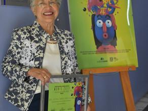 Reconocen Silvia Torres durante la IV Muestra Nacional de Imágenes Científicas