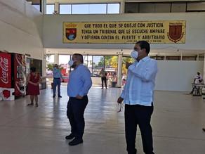 Realiza Juan Óscar Trinidad Palacios supervisión a juzgados de Tapachula