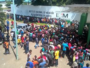 Situación de migrantes en Chiapas es aún preocupante