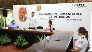 En este gobierno, mil 218 personas han sido beneficiadas con liberación humanitaria: Escandón