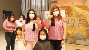 Inaugura Poder Judicial Semana Rosa contra el cáncer de mama