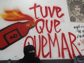 Ocupación feminista en sede de la CNDH cumple un mes y toma fuerza