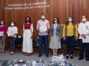 Clausura Voluntariado del Poder Judicial campaña: Dona Sandalias de Corazón