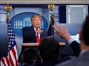 Trump exige a la ONU que restaure sus sanciones a Irán