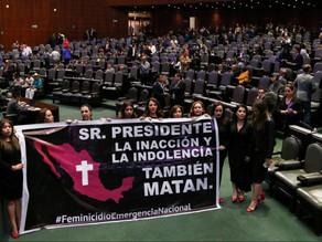 Aumentan pena a 65 años de prisión para quien cometa feminicidio