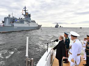 Putin presume del poderío de la Armada rusa