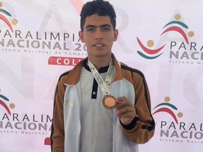Chiapas suma primeras medallas en la Paralimpiada Nacional