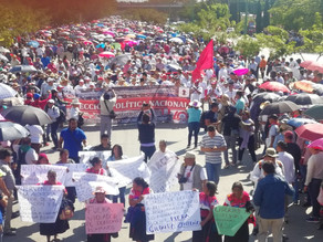 Marcha no es de fiesta, sino de protesta: CNTE