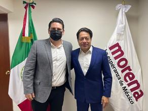 Carlos Molina refuerza compromiso para consolidar la Transformación del país