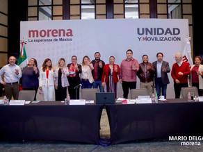 Toma protesta Carlos Molina Velasco como secretario del CEN de Morena