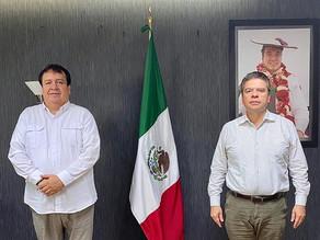 Brito Mazariegos exhorta a Rosales a seguir construyendo un mejor Villaflores