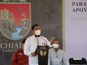 Como nunca, hoy la justicia y la seguridad de Chiapas están más cerca de la gente: Llaven Abarca
