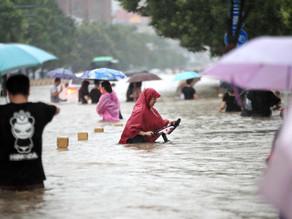Las fuertes lluvias en la provincia china de Henan dejan 376.000 evacuados