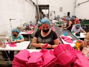 La producción industrial en México cae un 9 % anual en agosto