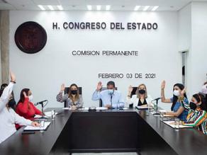 Comisión Permanente da trámite legislativo a licencias de diputados