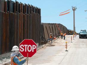 Tramos privados del muro fronterizo de Trump corren peligro de derrumbarse
