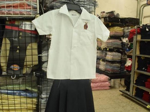 Cae 75 por ciento venta de uniformes escolares