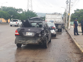 Siguen incrementado los accidentes de tránsito en Tuxtla