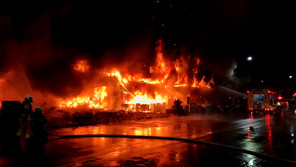 Incendio en Taiwán deja al menos 46 muertos y decenas de heridos