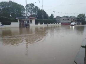 Vuelven las inundaciones en colonias de SCLC