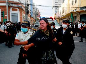 La ONU pide investigar lo sucedido en las protestas en Guatemala