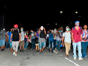 La pandemia de COVID-19 no frena la migración de hondureños a EU