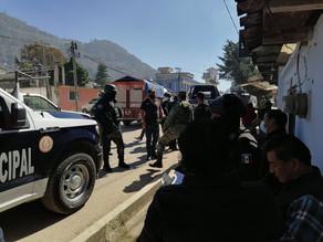 Se intensifica operativo en SCLC por enfrentamiento en la zona norte