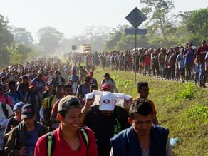 Unos 300 migrantes centroamericanos se amotinan en Estación Migratoria Cupapé