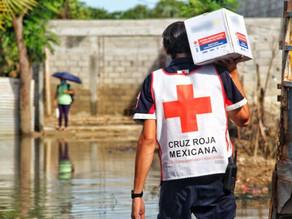 Francia hace un donativo de un millón 450 mil pesos a la Cruz Roja para apoyar a Chiapas y Tabasco